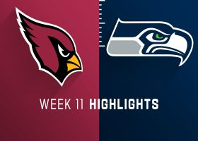 Cardinals vs. Seahawks highlights | Week 11