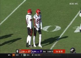 Tyler Boyd couldn't be more open on 25-yard catch