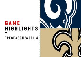 Rams vs. Saints highlights | Preseason Week 4