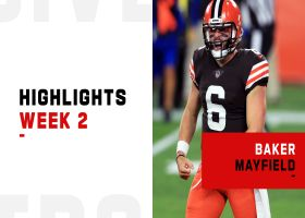 Baker Mayfield's best throws vs. Bengals on 'TNF' | Week 2