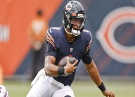James Jones on Bears' QB situation: It is Justin Field's time