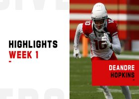 Every catch from DeAndre Hopkins' Cardinals debut | Week 1
