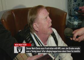 Mark Davis' first public comments since Jon Gruden's resignation