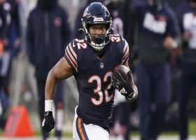 Bears' OL paves huge hole for David Montgomery's 38-yard burst