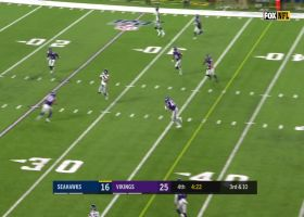 John Ursua's slick 25-yard catch and run picks up a first down