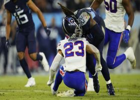 Micah Hyde crumbles in wake of Derrick Henry's thunderous truck stick