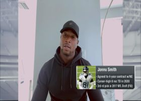Jonnu Smith: I'm looking forward to Pats' two-TE sets with Hunter Henry