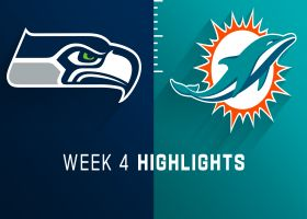Seahawks vs. Dolphins highlights | Week 4