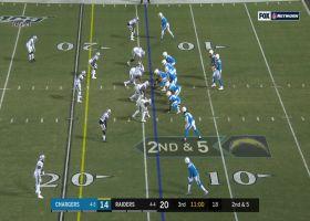 Clelin Ferrell rips past Bolts' LT for his first sack since Week 1