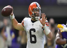 Rapoport: Mayfield's shoulder injury likely to hamper QB throughout season