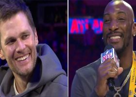 New England Patriots quarterback Tom Brady talks about the time Bill Belichick tried to make Aqib Talib a receiver