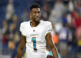 Wolfe: Dolphins view Tagovailoa's fractured ribs as 'short-term injury'
