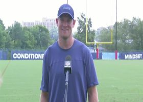 Ryan Tannehill explains how his chemistry with Julio Jones has developed at Titans camp