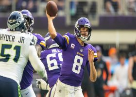 Cousins beats Seahawks' third-down blitz with fadeaway dime to Osborn