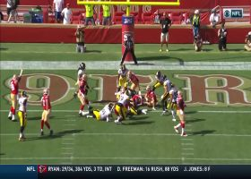 Jeff Wilson's 1-yard TD plunge gives 49ers first lead of the game