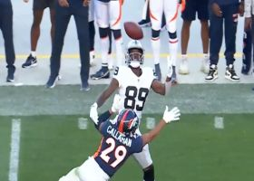 Can't-Miss Play: Bryan Edwards' one-handed grab yields 51-yard gain
