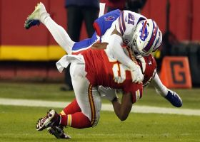 Jordan Poyer resembles heat-seeking missile on big third-down tackle