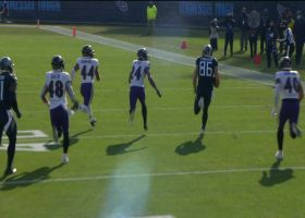 Titans use Henry as decoy to make space for Firkser's 35-yard catch and run