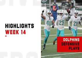 Dolphins' best defensive plays from 4-turnover game | Week 14