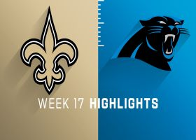 Saints vs. Panthers highlights | Week 17
