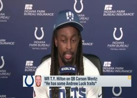 T.Y. Hilton on Wentz: 'He has some Andrew Luck traits'