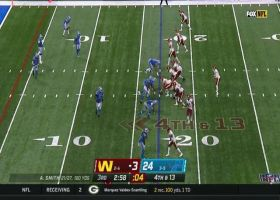 Alex Smith finds Logan Thomas for scooping fourth-down grab