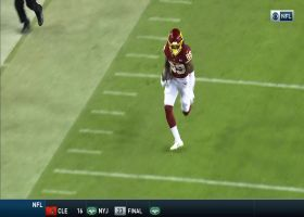 Haskins buys time to find Cam Sims WIDE OPEN for huge 50-yard pickup