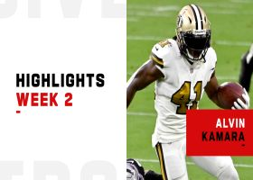 Alvin Kamara's best plays from 2-TD game | Week 2