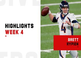 Brett Rypien's best throws from first NFL start | Week 4