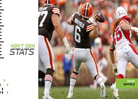 Mayfield's Hail Mary to Peoples-Jones was longest air-yards completion of Next Gen Stats era