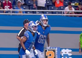 T.J. Hockenson grabs two-point conversion for Lions