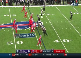 Humphrey's defensive PI penalty gives Bills life on fourth-down incompletion