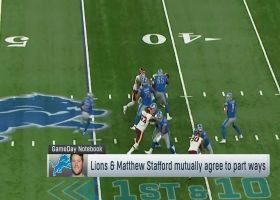 Pelissero: Lions, Stafford mutually agree to part ways