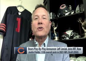 Jeff Joniak: It'd be a 'long shot' for Justin Fields to start Week 1