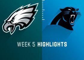 Eagles vs. Panthers highlights | Week 5