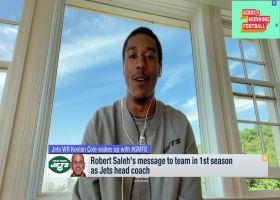 Keelan Cole describes Jets HC Robert Saleh in one word: 'Observant'