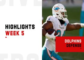 Dolphins' best defensive plays from dominant win | Week 5