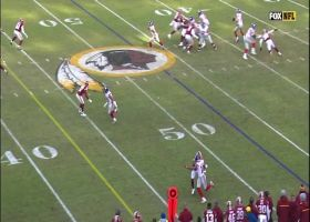 Golden Tate finds a crease in the Redskins' D for 31-yard catch