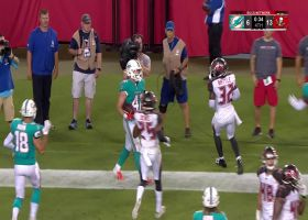 Dolphins take final-minute lead with TD, two-point conversion