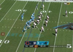 D.J. Moore slices through Bears D for 16-yard catch and run