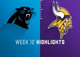 Panthers vs. Vikings highlights | Week 12