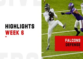 Falcons' best defensive plays from strong win | Week 6