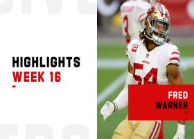Fred Warner's best plays against the Cardinals | Week 16