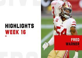 Fred Warner's best plays against the Cardinals | Week 16