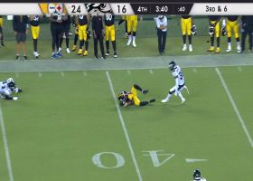 Anthony Johnson lays out for stellar, scooping grab