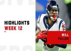 Every catch by Will Fuller from 171-yard, 2-TD game | Week 12