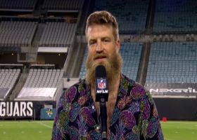 Fitzpatrick discusses facial-hair QB showdown, postgame fit after 'TNF' win