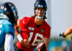 Palmer: Takeaways from Trevor Lawrence's first Jags training camp practice