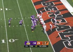 Dalvin Cook's vision, quickness are on full display for TD dash
