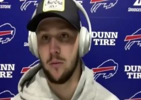 Josh Allen reacts to Bills' Week 6 loss to Chiefs